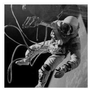 Primer Spacewalk americano (géminis 4) Poster
