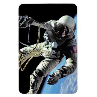 Primer Spacewalker americano Imán De Vinilo