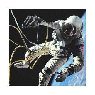 Primer Spacewalker americano Impresion De Lienzo