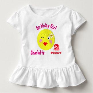 Primer Special lindo del cumpleaños personalizado Playera De Niño
