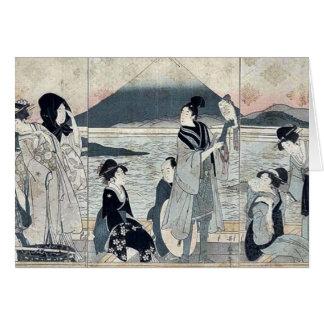 Primer sueño por Kitagawa, Utamaro Felicitacion