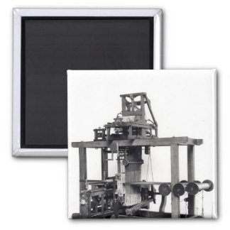 Primer telar completamente automatizado imán cuadrado
