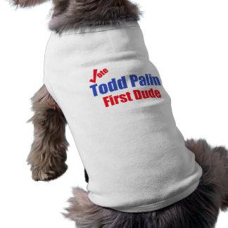 Primer tipo de Todd Palin Playera Sin Mangas Para Perro