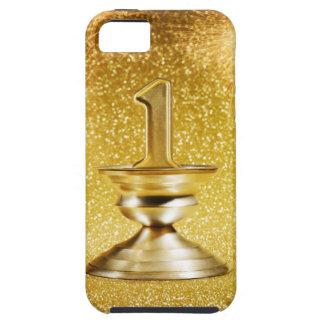 Primer trofeo del lugar funda para iPhone 5 tough