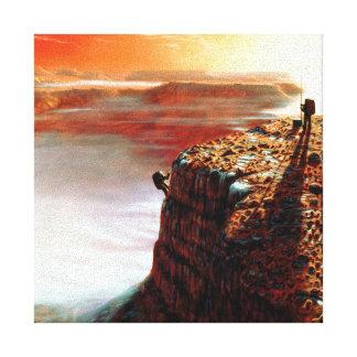 Primer viaje a Marte Lienzo Envuelto Para Galerias