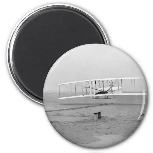 Primer vuelo acertado del aviador de Wright Iman