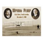 Primer vuelo del aviador 1903 de Wright Postales