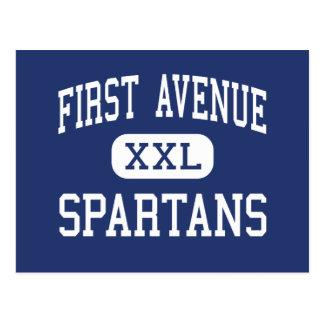 Primera Arcadia del centro de Spartans de la Tarjetas Postales