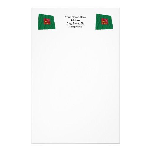 Primera bandera de los rifles de Pennsylvania Papelería
