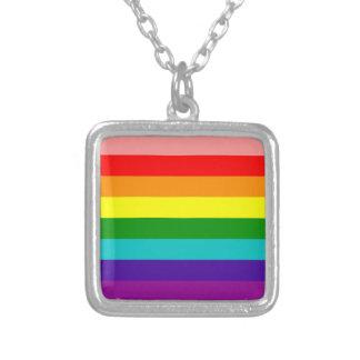 Primera bandera del orgullo del arco iris colgantes personalizados