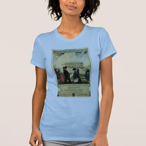 Primera C.C. de Washington de la Casa Blanca Tee Shirt