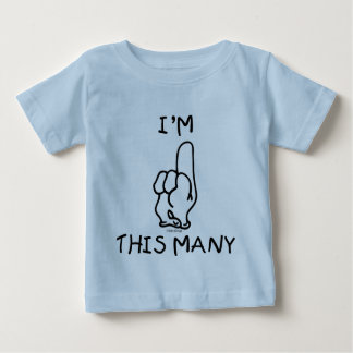 Primera camisa del cumpleaños