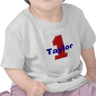 Primera camisa del cumpleaños de la falsa puntada