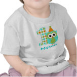 Primera camisa del cumpleaños del muchacho adaptab