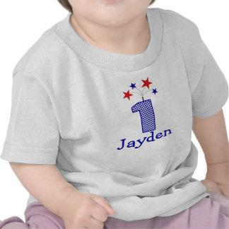 Primera camisa del cumpleaños del petardo adaptabl
