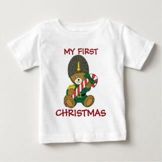 Primera camisa del navidad de los bebés