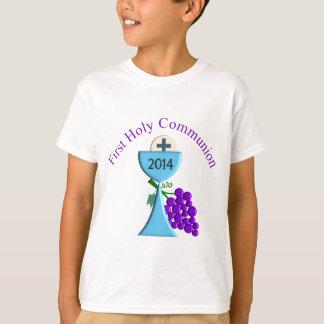 Primera camiseta 2014 de la comunión santa