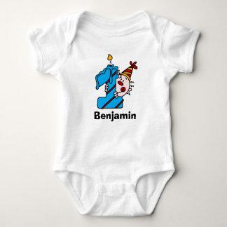 Primera camiseta de Bithday del payaso azul de la Remeras