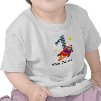 Primera camiseta de Rocket del cumpleaños
