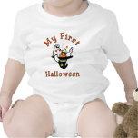 Primera camiseta del bebé de Halloween