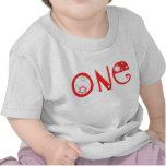 Primera camiseta del cumpleaños de la diversión fl