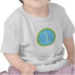 Primera camiseta del cumpleaños del bebé dulce