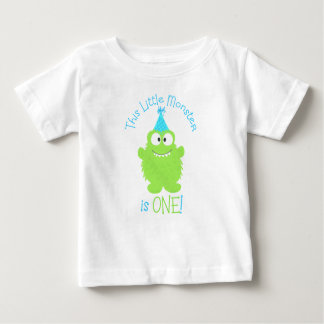 Primera camiseta del cumpleaños del pequeño