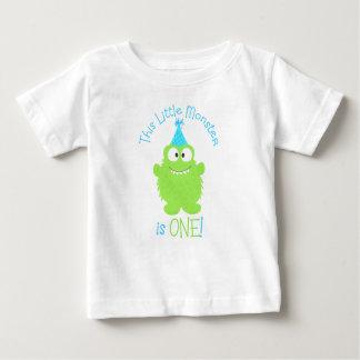 Primera camiseta del cumpleaños del pequeño polera