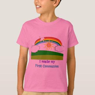 Primera camiseta del día de la comunión