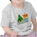Primera camiseta del navidad de Babys