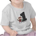 Primera camiseta del pirata del muchacho del cumpl