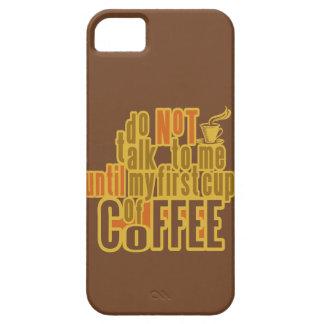 PRIMERA casamata del iPhone del CAFÉ iPhone 5 Carcasa