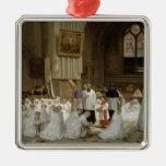 Primera comunión, 1867 ornamento para reyes magos