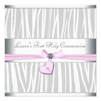 Primera comunión de la cebra del corazón de la cru comunicados personales