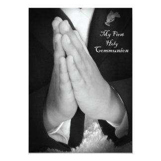 Primera comunión santa 6 invitación