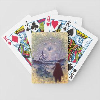 Primera cubierta del arte de las naciones de baraja cartas de poker
