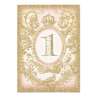 """Primera del cumpleaños princesa érase una vez invitación 5"""" x 7"""""""