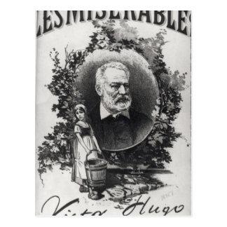 Primera edición de Titlepage de 'Les Miserables Tarjeta Postal