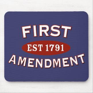 Primera Enmienda Alfombrilla De Ratón