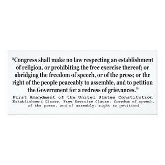 Primera Enmienda de la constitución de Estados
