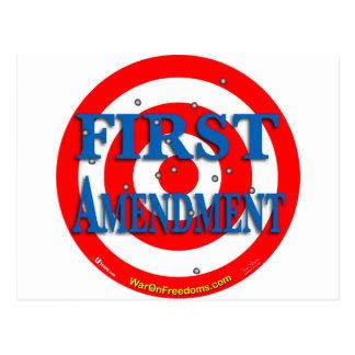 Primera Enmienda Postal