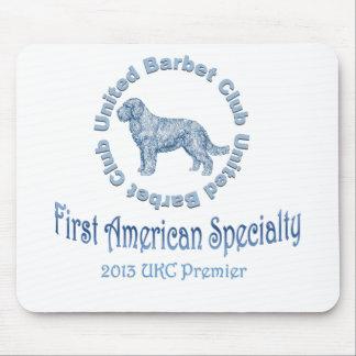 Primera especialidad americana del perro de aguas mouse pad