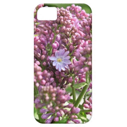 Primera flor de la lila con doce pétalos por BestP iPhone 5 Case-Mate Carcasas