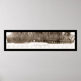 Primera foto 1917 de Ambulance Company Póster