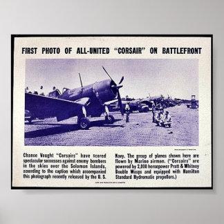 Primera foto del corsario Todo-Unido en Battlefron Posters