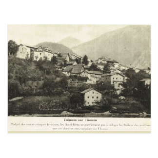 Primera Guerra Mundial, ciudad austríaca Postales