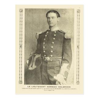 Primera Guerra Mundial, Lt británico norman Tarjeta Postal