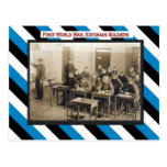 Primera Guerra Mundial, sala de clase estonia de l Postales