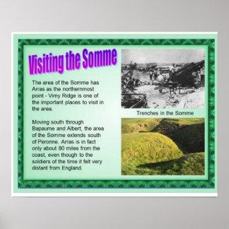 Primera Guerra Mundial, visitando el Somme Impresiones