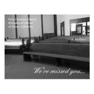 "Primera iglesia cristiana de Selma ""le hemos Postales"
